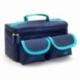 Astuccio isotermico con retina per trasporto di campioni | Estrazione di campioni | Blu e celeste | ROW'S - Foto 8