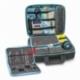 Valigetta multifunzionale podologo e odontoiatra | Borsa per visite a domicilio | Nero e azzurro | Elite Bags - Foto 3