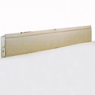 Protettore imbottito per balaustre   Di schiuma   Misure: 145 x 38 x 3,5 - 4 cm