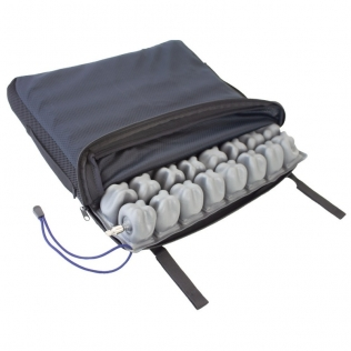 Cuscino antidecubito   Ad aria   Per sedia a rotelle   1 Valvola   Sfoderabile   Q-AIR   Mobiclinic