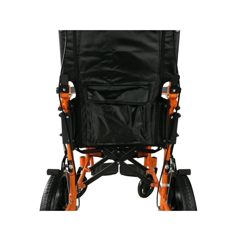 Sedia a rotelle | Pieghevole | Alluminio | Poggiapiedi ...