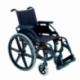 Sedia a rotelle pieghevole Breezy Premium (ex 250) in rosso con ruota da 24 - Foto 1