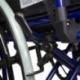 Sedia a rotelle pieghevole | PREMIUM | Carrozzina | Acciaio | Nera e Blu | Giralda | Mobiclinic - Foto 7