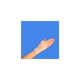 Fascia elastica per adduzione del pollice | Polsiera steccata con presa pollice | Chiusura in velcro