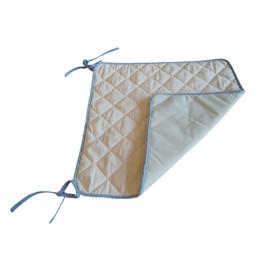 Imbottitura protettiva per sedie a rotelle   Riutilizzabile   Impermeabile   5 strati   45x50 cm