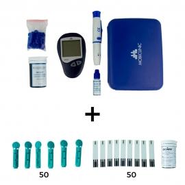Glucometro   Strisce per glicemia   Lancette pungidito   Risultato immediato   Confezione risparmio