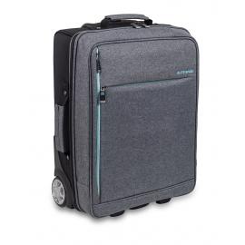 Valigetta per assistenza domiciliaria | Trolley grigio-nero | Capiente, comoda, multifunzionale | Urban HOVI'S | Elite Bags
