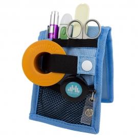 Assistenza infermieristica | Organizer infermiere per camice | Azzurro | Mini Keen's | Mobiclinic
