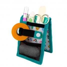 MINIKEEN'S Pediatrico | Organizer per pediatria | Design con stampa infantile | Da taschino | Mobiclinic