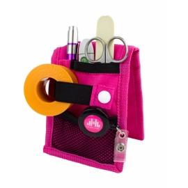 Assistenza infermieristica | Organizer infermiere per camice | Rosa | Mini Keen's | Mobiclinic