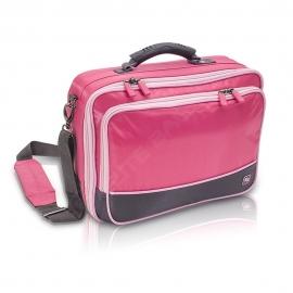 Borsa per assistenza medica | Borsa per visita domiciliaria | Colore: Rosa Community | Elite Bags