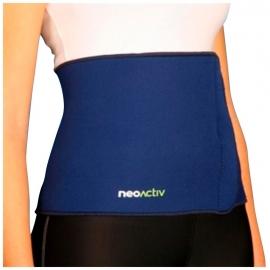 Fascia Addominale | Pancera/fascia elastica | Colore blu | Taglia unica