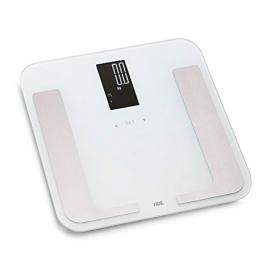 Bilancia pesapersone digitale fino a 180kg | Multifunzione | Bianco | Bella | ADE