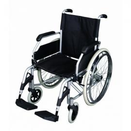 Sedia a rotelle in alluminio   Sedia a rotelle pieghevole   Alluminio   Albatros