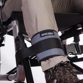 Cinta sostegno caviglie | Sedia a rotelle | Fibbia | Sicurezza | Comodità