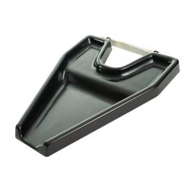 Lavatesta portatile | Lavatesta per lavandino | Leggero e comodo | Plastica | Nero | Mobiclinic