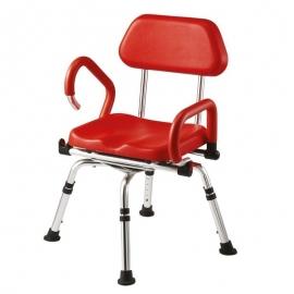 Sedia per doccia | Sedia doccia disabili | Girevole | Imbottita | Alluminio