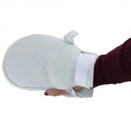 Guanto antipiaghe   Guanto antidecubito   Cotone, cinturino velcro   Bianco