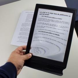 Lente di ingrandimento | Lente di ingrandimento da tavolo | Orizzontale o verticale | Senza base d'appoggio | Nero | Mobiclinic