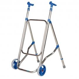 Deambulatore a due ruote   Colore Blu   CAR   Forta