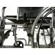 Sedia a rotelle | Pieghevole | Schienale e poggiapiedi reclinabili | Acciaio | Nero | Obelisco | Mobiclinic - Foto 6