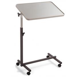 Tavolino con ruote | Tavolino da letto | Regolabile | Inclinazione laterale regolabile | Altezza regolabile