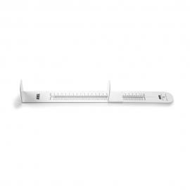 Misuratore di altezza per bambini | Baby Meter | Soft | Pieghevole | Misura 200-800mm | ADE