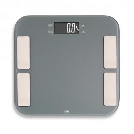 Bilancia da bagno fino a 180kg | Multifunzione | Grigio | Malou | ADE