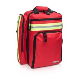 Zaino emergenza | Primo soccorso | Supporto | Ampio | Kit pronto soccorso | Rosso