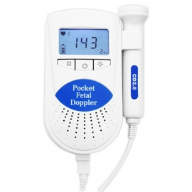 Doppler feto   Rilevatore battito fetale   Sonda da 2 MHz   Mobiclinic