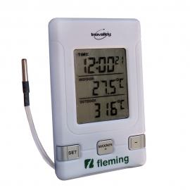Termometro ambientale digitale di due schermi Max-Min | Fleming