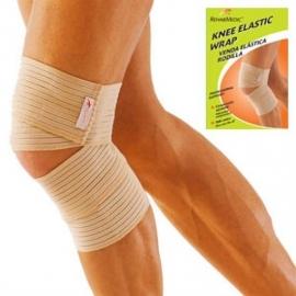 Tutore per ginocchio   Ginocchiera   Benda elastica   Taglia unica   Color beige