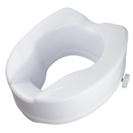 Rialzo water | Alzawater senza coperchio | Altezza | 14 cm | Plastica | Bianco | Titán | Mobiclinic