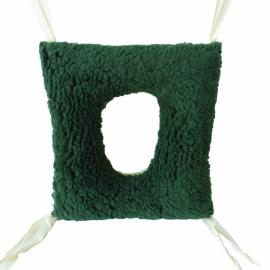 Cuscino antidecubito quadrato | Con foro centrale | Cuscino per carrozzina | Double face | 44 x 40 x 12 cm