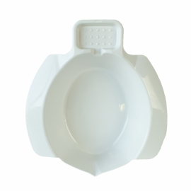 Bidet portatile   Bidet per disabili   Con portasapone   Plastica   Bianco