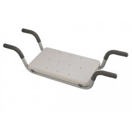 Sedile vasca da bagnom |Regolabile in altezza | Con bracci | Alluminio