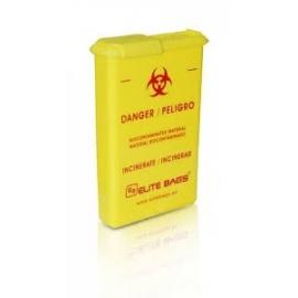 Porta aghi | Contenitore per taglienti | Giallo | Elite Bags