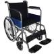 Sedia a rotelle | Pieghevole | Ruote grandi | Ortopedica | Leggera | Acciaio | Nero | Alcázar | Mobiclinic - Foto 1