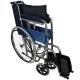 Sedia a rotelle | Pieghevole | Ruote grandi | Ortopedica | Leggera | Acciaio | Nero | Alcázar | Mobiclinic - Foto 3