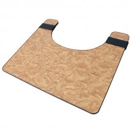 Tavolino per sedia a rotelle | Accessori sedia a rotelle | Compensato | Stabile | Leggero | Mobiclinic