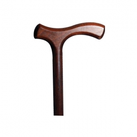 Bastone da passeggio | Bastone per anziani | Impugnatura a T | Legno | Comodo | Elegante | Pratico
