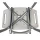Sedia da bagno   Altezza regolabile   Alluminio   Schienale   Ulivo   Mobiclinic - Foto 5