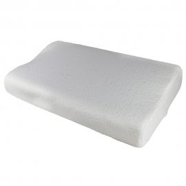 Cuscino cervicale viscoelastico | 60x35 cm | Sagomato