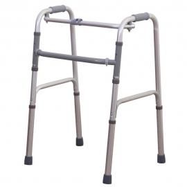 Girello anziani | Pieghevole | 3 in 1 | Fisso | Alluminio