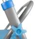 Girello per anziani | Pieghevole | Alluminio | Sedile | 2 ruote | Leggero | Deluxe | Future | Mobiclinic - Foto 9