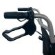 Sedia a rotelle di transito | Pieghevole | Alluminio | Ruote piccole | Freni su leve | Nero | Nettuno | Mobiclinic - Foto 6