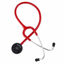 Riester Stetoscopio duplex 2.0 | Fonendoscopio | Colore Rosso | Alluminio | Duplex 2.0 | Riester