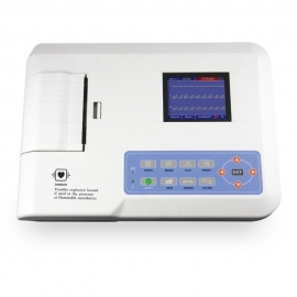 Elettrocardiografo portatile   Elettrocardiogramma   ECG   A 3 canali   Stampante   ECG300G   Mobiclinic