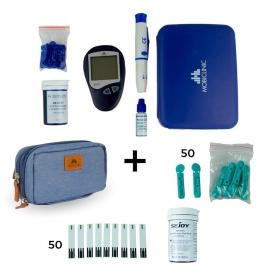 Glucometro   Lancette per glicemia   Strisce glicemia   Astuccio isotermico   Risultato immediato   Confezione risparmio