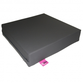 Cuscino antidecubito viscoelastico | 42x42x8cm | Grigio grafite | Maxiconfort